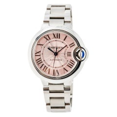 Cartier Ballon Bleu W6920100; Black Dial, Certified and Warranty