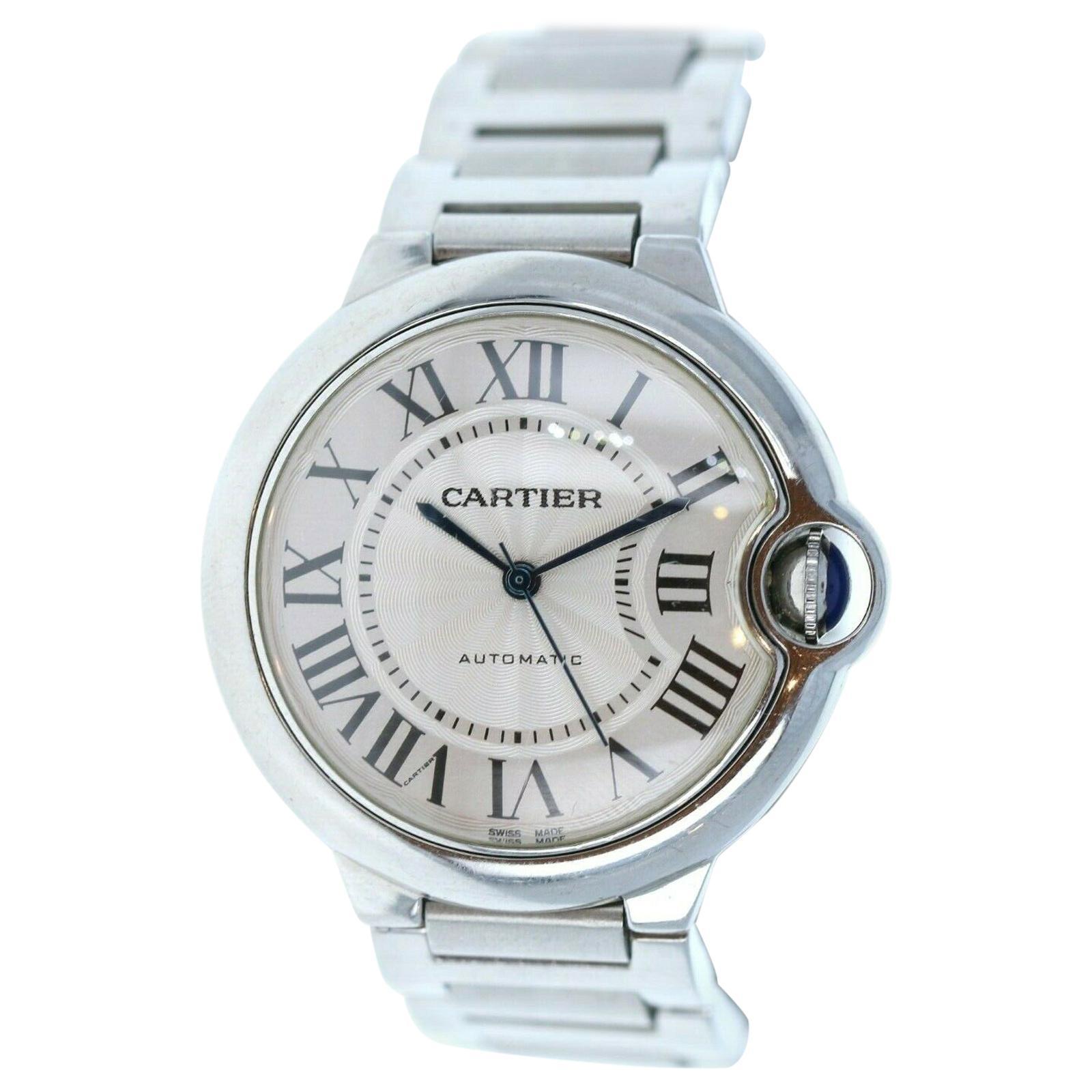 Cartier Ballon Bleu Watch Stainless Steel Automatic