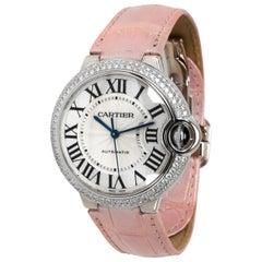 Cartier Ballon Bleu We900651 Unisex Watch in 18 Karat White Gold