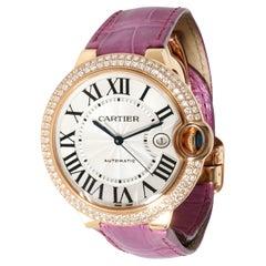 Cartier Ballon Bleu WE900851 Unisex Watch in Rose Gold