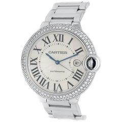 Cartier Ballon Bleu WE9009Z3, Silver Dial, Certified and Warranty
