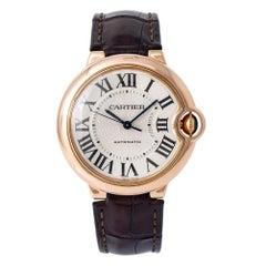 Cartier Ballon Bleu WGBB0009, Silver Dial, Certified and Warranty