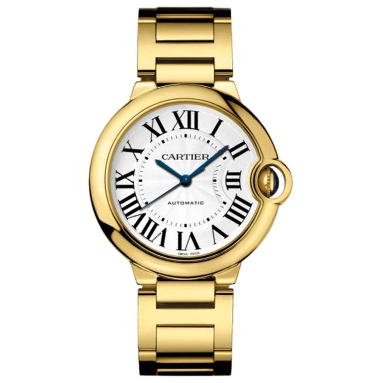 Cartier Ballon Bleu Yellow Gold Watch WGBB0011