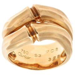 Cartier Bamboo Collection Gold Ring