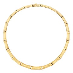 Cartier Bamboo Style Necklace