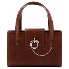 Cartier Bordeaux Panthère Box Bag
