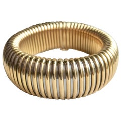 Cartier Bracelet Tubogaz Mesh in Yellow Gold 18 Carat