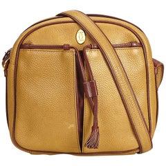 Cartier Brown Leather Tasseled Must de Cartier Crossbody Bag