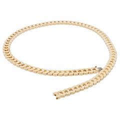 Cartier C De Cartier 18 Karat Yellow Gold Necklace