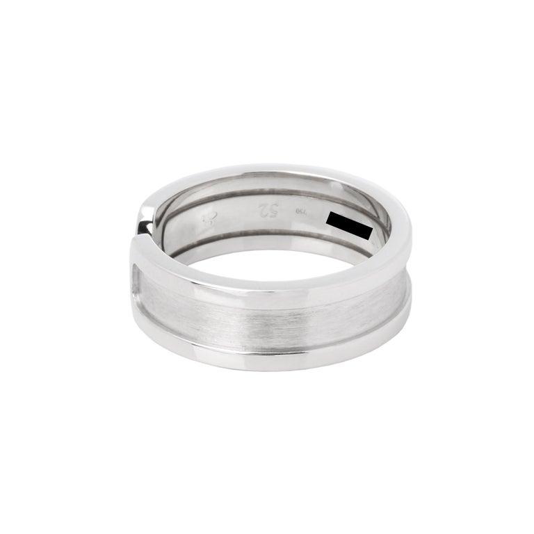 Contemporary Cartier C de Cartier Band Ring For Sale