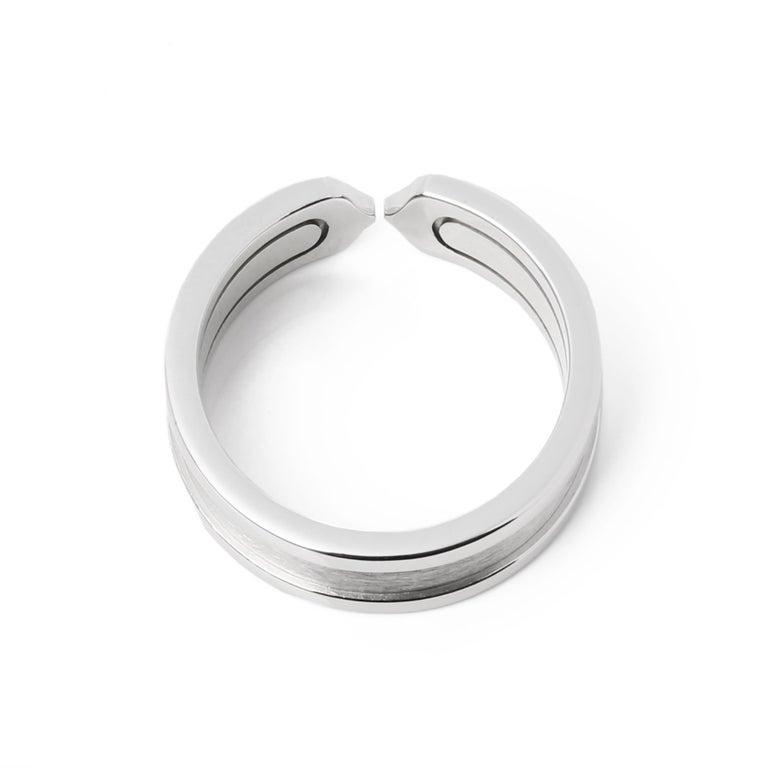 Cartier C de Cartier Band Ring In Good Condition For Sale In Bishop's Stortford, Hertfordshire