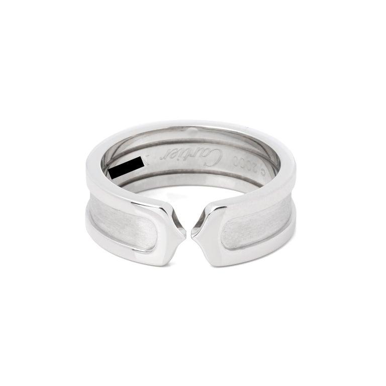 Cartier C de Cartier Band Ring For Sale 1
