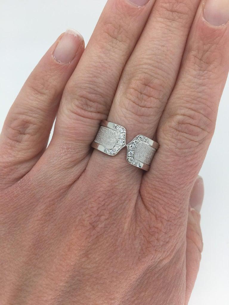 f915b361c6d90 Cartier C De Cartier Logo Ring
