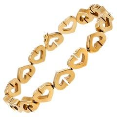 Cartier C Heart 18K Yellow Gold Bracelet