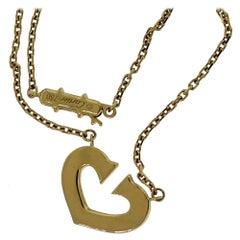 "Cartier ""C Heart of Cartier"" Rose Gold Pendant Necklace"