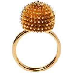 Cartier Cactus De Cartier Diamond 18K Rose Gold Ring Size 50
