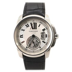 Cartier Calibre de Cartier Automatic Watch Stainless Steel and Alligator 42