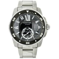 Cartier Calibre de Cartier Diver Stainless Steel Automatic Men's Watch W7100057