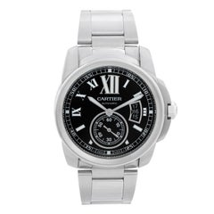 Cartier Calibre de Cartier Men's Stainless Steel Watch W7100037 3389