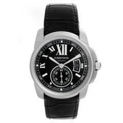 Cartier Calibre de Cartier Men's Stainless Steel Watch W7100037