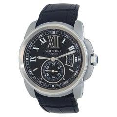 Cartier Calibre de Cartier Stainless Steel Men's Watch Automatic W7100041
