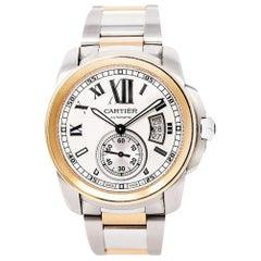 Cartier Calibre de Cartier W7100036, Silver Dial, Certified