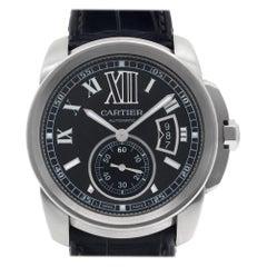 Cartier Calibre de Cartier W7100041, Black Dial, Certified