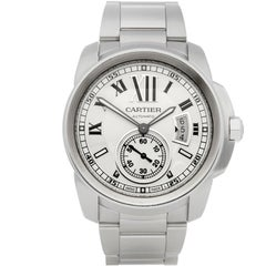 Cartier Calibre Stainless Steel 3398 or W7100037