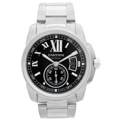 Cartier Calibre Stainless Steel Men's Watch W7100015