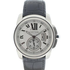 Cartier Stainless Steel Calibre Automatic Wristwatch