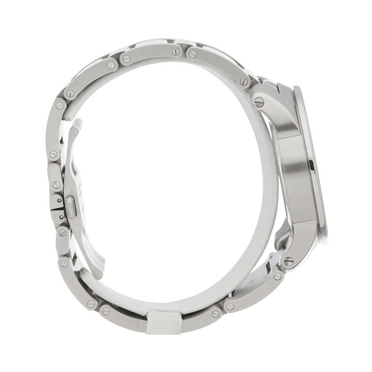 Men's Cartier Calibre Stainless Steel W7100037 or 3398 For Sale