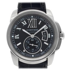 Cartier Calibre W7100041, Black Dial, Certified and Warranty