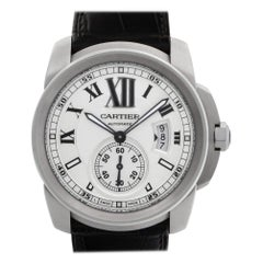 Cartier Calibre W7100041, Silver Dial, Certified and Warranty