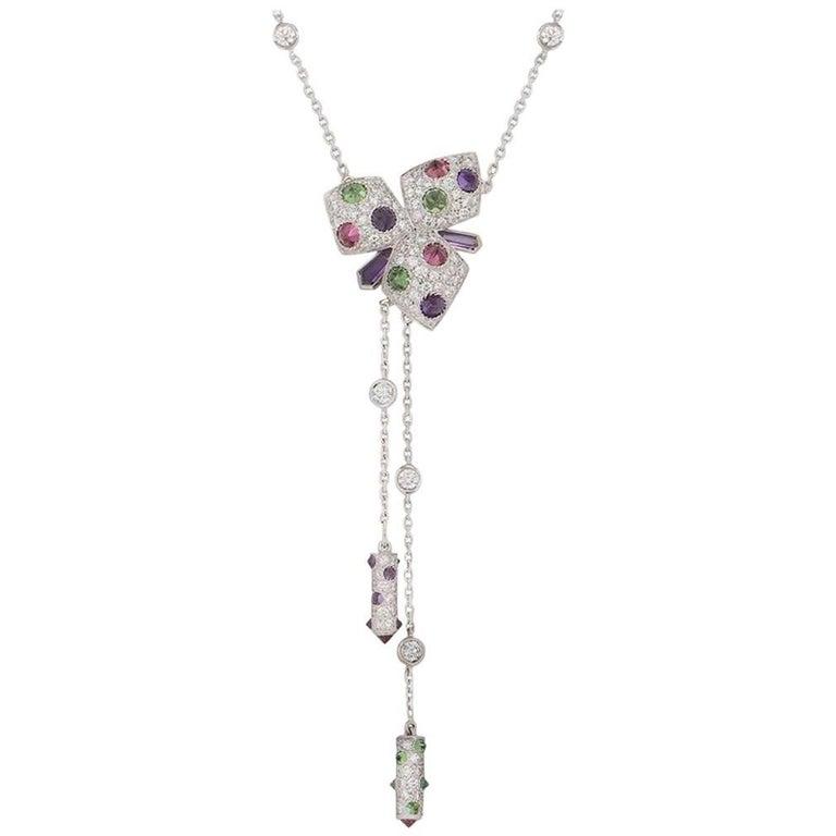 Cartier Caresse d'Orchidées Necklace For Sale