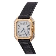 Cartier Ceinture Ladies Yellow Gold and Diamond Wristwatch