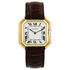 Cartier Ceinture Paris 18 Karat Yellow Gold Ladies Automatic Watch