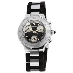 Cartier Chronoscaph 21 Stainless Steel Watch W10125U2