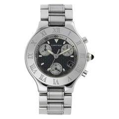 Cartier Chronoscaph 21 Unisex Watch 2424
