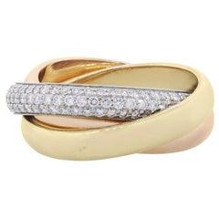 Cartier Classic Trinity Diamond Ring