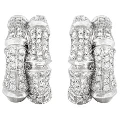 Cartier Clip-On Diamond Earrings