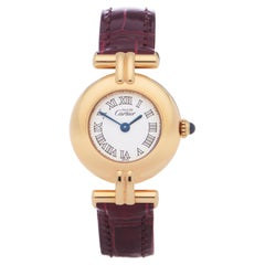 Cartier Colisee 0 W1011554 Ladies Gold Plated 0 Watch