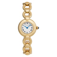 Cartier Colisee 18k White Dial