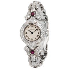 Cartier Colisse 0030 Women's Watch in 18 Karat White Gold