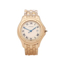 Cartier Cougar 18 Karat Yellow Gold 887904