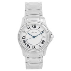 Cartier Cougar Men's/Ladies Midsize 33mm Stainless Steel Automatic Watch