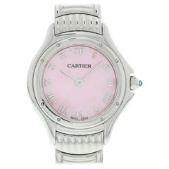 Cartier Cougar Stainless Steel 1521.1