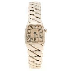 Cartier Cream Stainless Steel La Dona Women's Wristwatch 22 mm