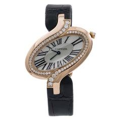 Cartier Delices de Cartier WG8000006, Silver Dial, Certified