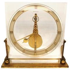 Cartier Desk Clock by European Watch & Clock Co., circa 1950s