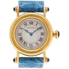 Cartier Diablo 1440, Beige Dial, Certified and Warranty